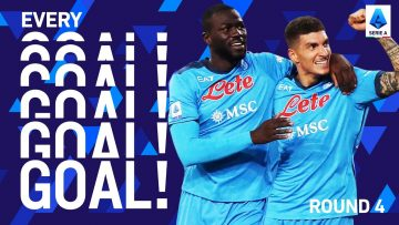 Napoli maintain great start with their fourth straight win | EVERY Goal | Round 4 | Serie A 2021/22