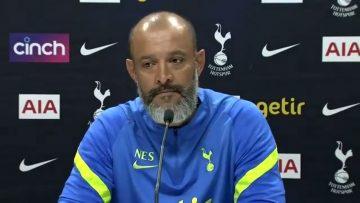 Nuno Espirito Santo- Pre Match Press Conference- Arsenal – Tottenham- Premier League