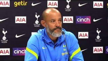 Nuno Espirito Santo- Pre Match Press Conference- Crystal Palace – Tottenham – Premier League