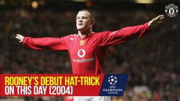 ON THIS DAY | Rooney Debut Hat-trick Lights Up Old Trafford | Manchester United 6-2 Fenerbahce