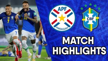 Paraguay vs Brazil | Matchday 8 Highlights | CONMEBOL South American World Cup Qualifiers