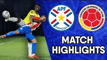 Paraguay vs Colombia | Matchday 6 Highlights | CONMEBOL South American World Cup Qualifiers