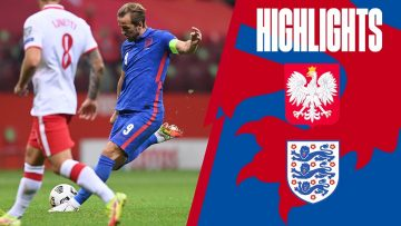 Poland 1-1 England | Three Lions Held to a Draw In Warsaw | World Cup 2022 Qualifiers | Highlights