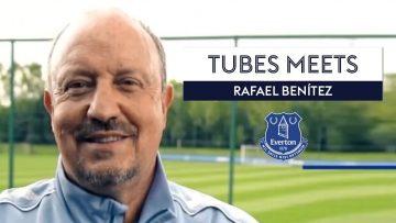 Rafa Benitez opens up on the criticism he received for joining Everton | Tubes Meets Rafa Benitez