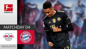 RB Leipzig – FC Bayern München 1-4 | Highlights | Matchday 4 – Bundesliga 2021/22