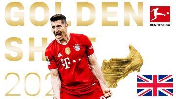 🇬🇧 RE-LIVE | Golden Shoe 2021 – Robert Lewandowski
