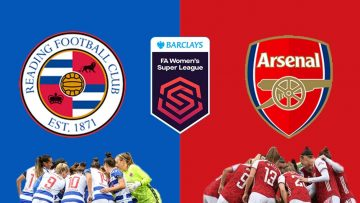 Reading vs Arsenal – FA WSL Womens Super League – 12/09/2021