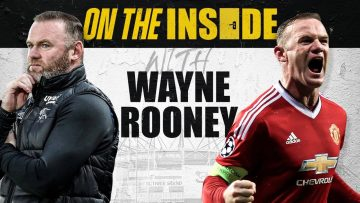 Rio Ferdinand Goes On The Inside With Wayne Rooney At Derby – From Kit Man To Training Ground.