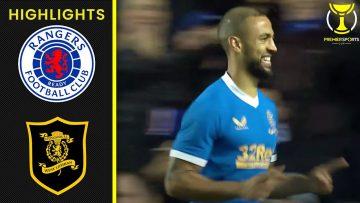 Roofe & Morelos Send Gers to Semi-Final! | Rangers 2-0 Livingston | Premier Sports Cup