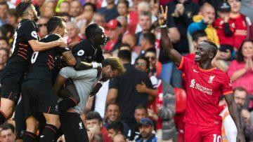 Sadio Manes 100 Liverpool goals | Arsenal celebration, Everton late winner & Munich stunner