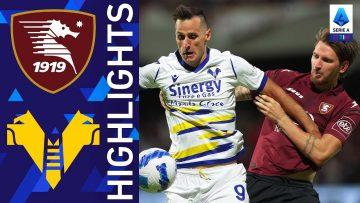 Salernitana 2-2 Verona | Finisce in parità il match dell'Arechi | Serie A TIM 2021/22