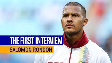 SALOMÓN RONDÓN: THE FIRST INTERVIEW | VENEZUELA STRIKER SIGNS FOR EVERTON