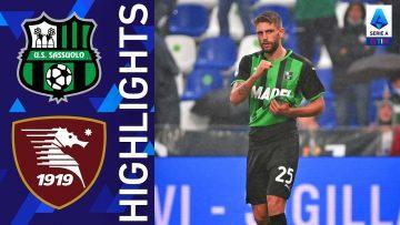 Sassuolo 1-0 Salernitana   Il Sassuolo torna alla vittoria   Serie A TIM 2021/22