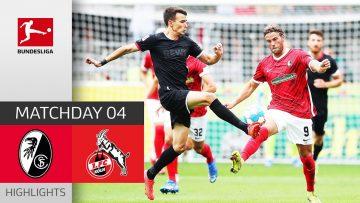 SC Freiburg – 1. FC Köln 1-1   Highlights   Matchday 4 – Bundesliga 2021/22