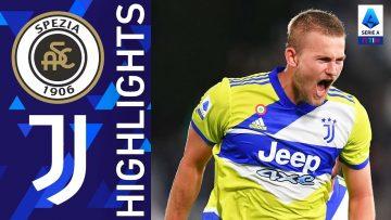 Spezia 2-3 Juventus | Un match pieno di emozioni al Picco | Serie A TIM 2021/22