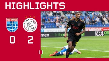 Sweet points in Zwolle 🔴🟡🟢 | Highlights PEC Zwolle – Ajax | Eredivisie