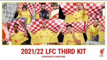 The new Nike Liverpool FC 2021/22 Third Kit has arrived!
