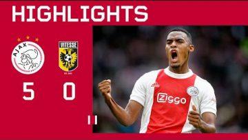 This is what we like to see 😍 | Highlights Ajax – Vitesse | Eredivisie