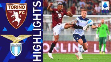 Torino 1-1 Lazio | La Lazio trova il pareggio nel finale | Serie A TIM 2021/22
