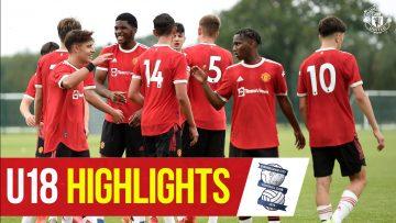 U18 Highlights | Birmingham 2-8 Manchester United | The Academy