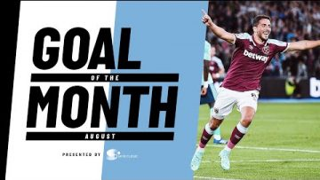UNSTOPPABLE ANTONIO   GOAL OF THE MONTH AUGUST