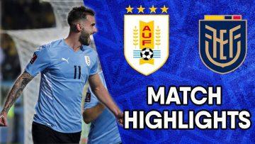 Uruguay vs Ecuador | Matchday 10 Highlights | CONMEBOL South American World Cup Qualifiers