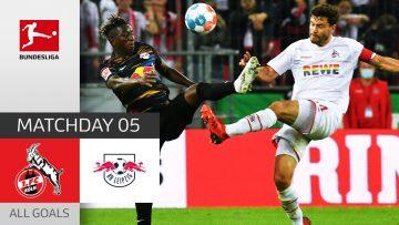 VAR Drama & Huge Chances!   1. FC Köln – RB Leipzig 1-1   All Goals   Matchday 5 – 2021/22