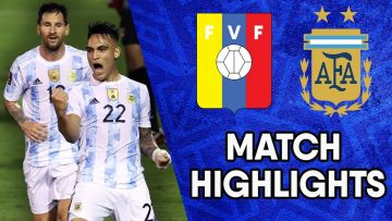 Venezuela vs Argentina | Matchday 9 Highlights | CONMEBOL South American World Cup Qualifiers