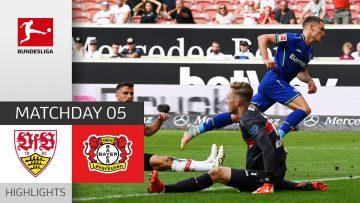 VfB Stuttgart – Bayer 04 Leverkusen 1-3   Highlights   Matchday 5 – Bundesliga 2021/22