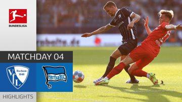 VfL Bochum – Hertha Berlin 1-3   Highlights   Matchday 4 – Bundesliga 2021/22