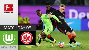 VfL Wolfsburg – Eintracht Frankfurt 1-1   Highlights   Matchday 5 – Bundesliga 2021/22