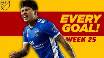 Watch Every GOLAZO from Week 25!