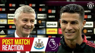 We are here to win   Ronaldo, Matic & Solskjaer reflect on win over Newcastle   Manchester United