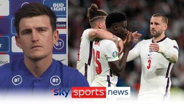 We use it as more motivation – Harry Maguire on bouncing back from Euro 2020 final defeat.