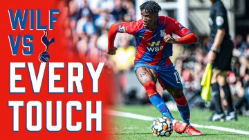 Wilfried Zaha   Every touch vs Spurs