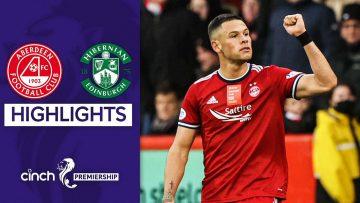 Aberdeen 1-0 Hibernian | Ramirez Goal Seals Important Win | cinch Premiership