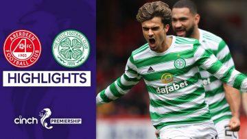 Aberdeen 1-2 Celtic | Jotas late goal gives Celtic the win | cinch Premiership
