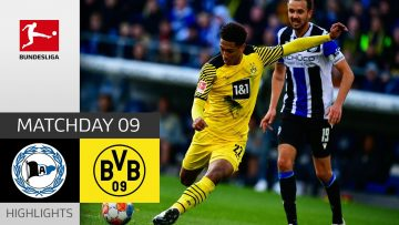 Arminia Bielefeld – Borussia Dortmund 1-3   Highlights   Matchday 9 – Bundesliga 2021/22