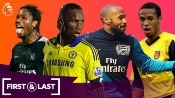 Black History Month | First & Last Premier League goals ft. Didier Drogba, Thierry Henry & more!