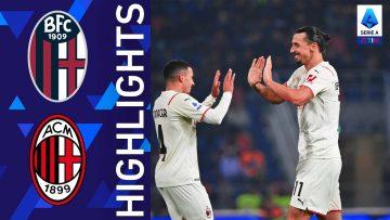 Bologna 2-4 Milan | Il Milan agguanta la vittoria nei minuti finali | Serie A TIM 2021/22