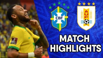 Brazil vs Uruguay | Matchday 12 Highlights | CONMEBOL South American World Cup Qualifiers