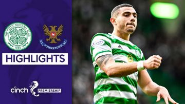 Celtic 2-0 St Johnstone | Giakoumakis Makes an Impact on First Start! | cinch Premiership