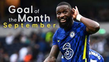 Chelsea Goal Of The Month   September