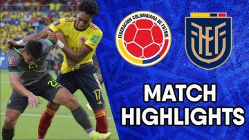 Colombia vs Ecuador | Matchday 12 Highlights | CONMEBOL South American World Cup Qualifiers