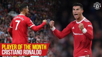 Cristiano Ronaldo   Player of the Month : September 2021   Manchester United