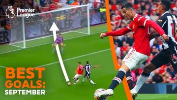 DREAM 2nd debut for Cristiano Ronaldo at Manchester United | Best Premier League goals | September