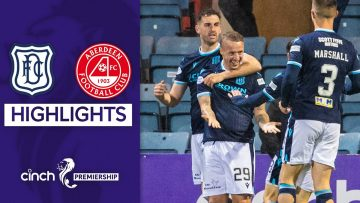Dundee 2-1 Aberdeen | Dundee Move Off Bottom of the Table! | cinch Premiership