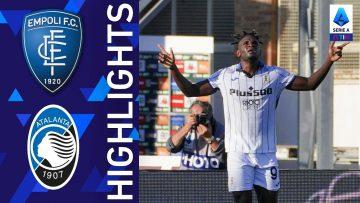 Empoli 1-4 Atalanta | La Dea torna a vincere! | Serie A TIM 2021/22