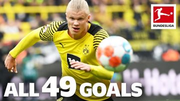 Erling Haaland – 49 Goals in Only 49 Games