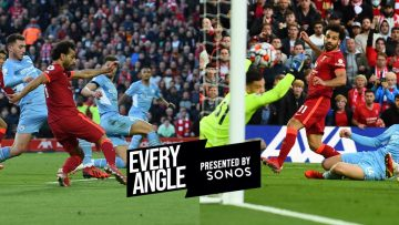 Every angle of Mo Salahs stunning solo goal against Manchester City